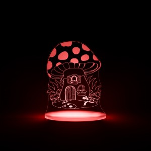 Aloka Night Light - Toadstool, Suitable from birth