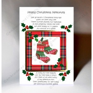 happy christmas memories scottish christmas card