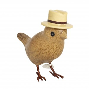 DCUK - Garden Bird with Straw Hat