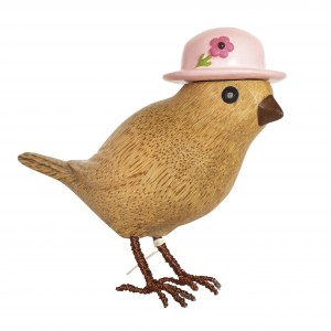 DCUK - Garden Bird with Pink Hat